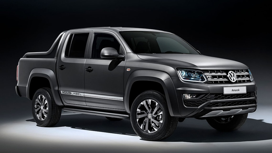 Volkswagen plans to display a special edition Amarok Dark Label – a name that has been launched in Australia in past years.