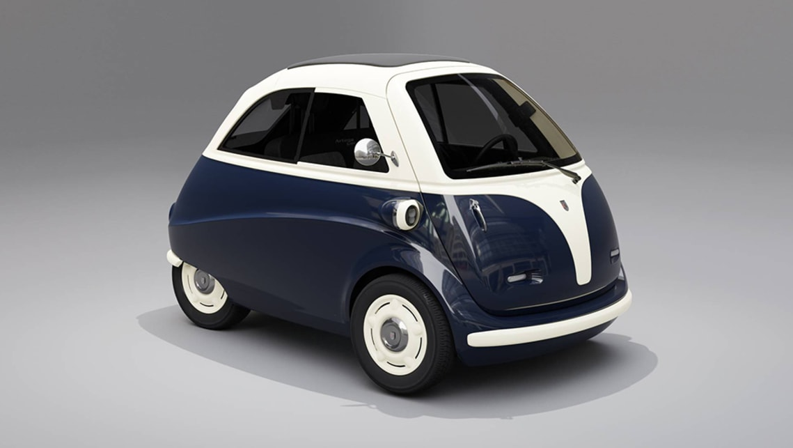 Designed specifically for European cities, it's unlikely we'll see the Artega Karo-Isetta in Australia.