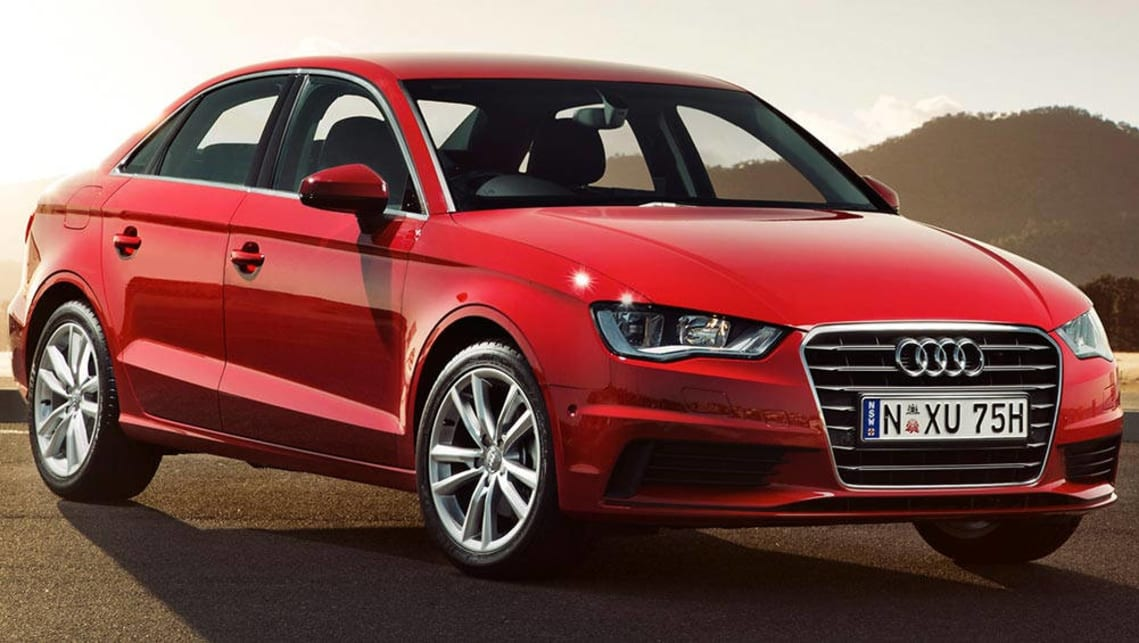 City runabouts from prestige brands, such as the Audi A3 (pictured), are proving more resilient to the SUV craze.