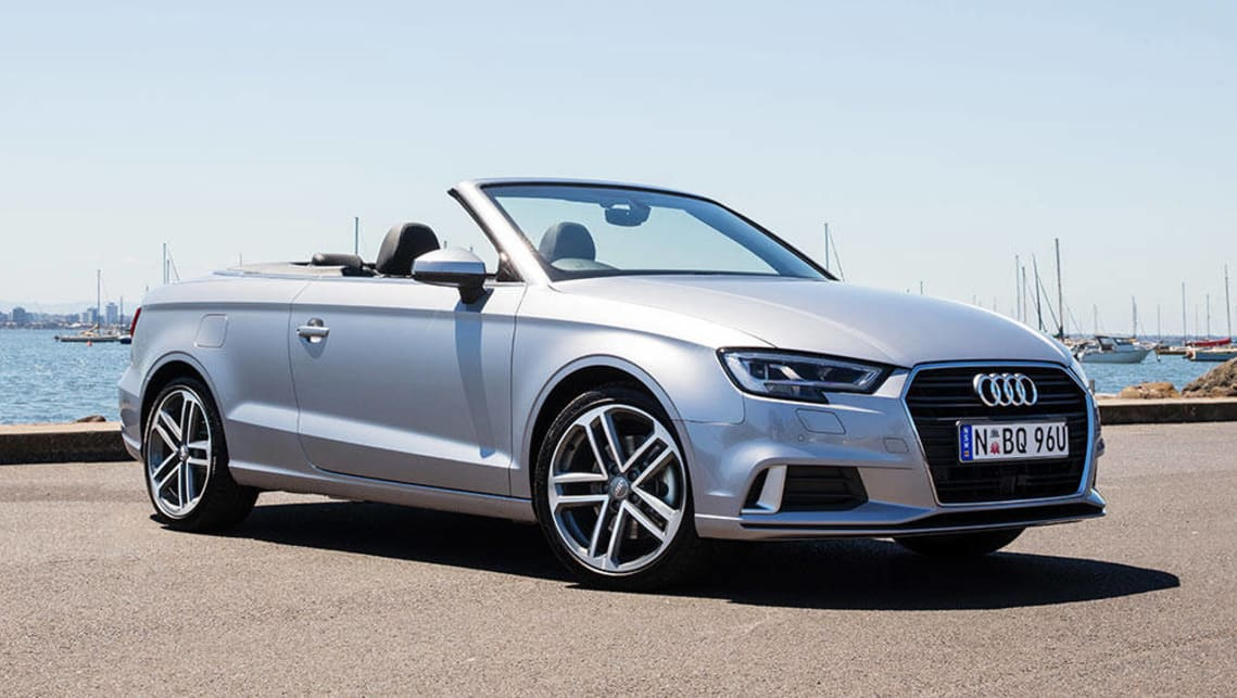 2016 Audi A3 Cabriolet (1.4TFSI shown)