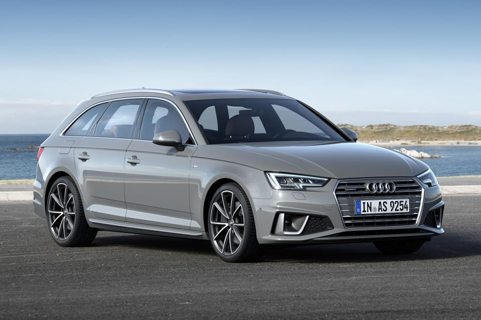 The Audi A4 40 TFSI and 45 TFSI come in both sedan and wagon body style.
