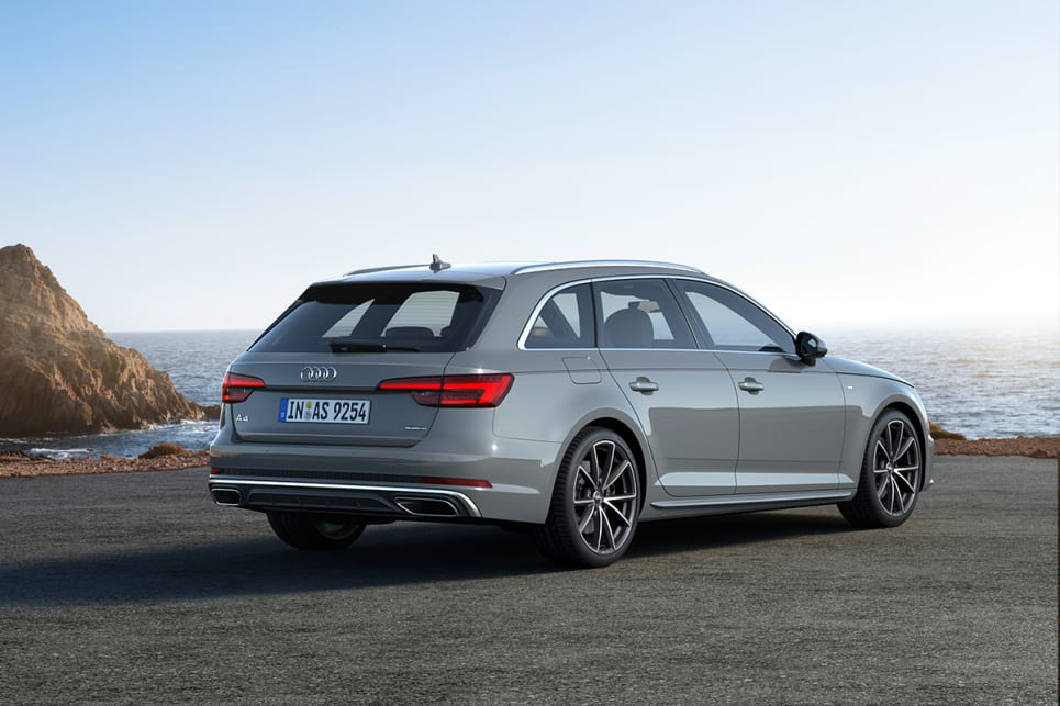 The 40 TFSI wagon is front wheel drive while the extra cost of the 45 TFSI will get you AWD.