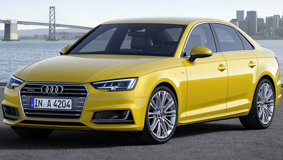 The Audi A4 hides major technical advances in within its body.