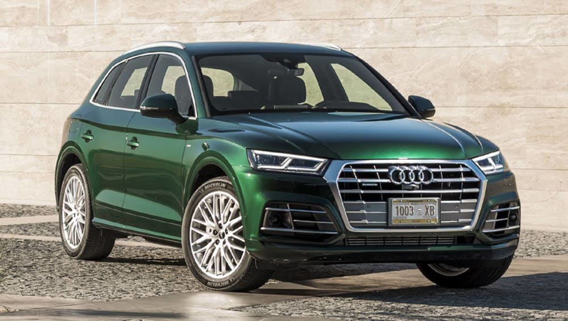 2017 Audi Q5 (overseas model shown)