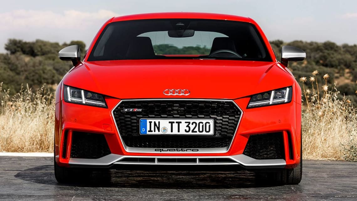 2017 Audi TT RS coupe.