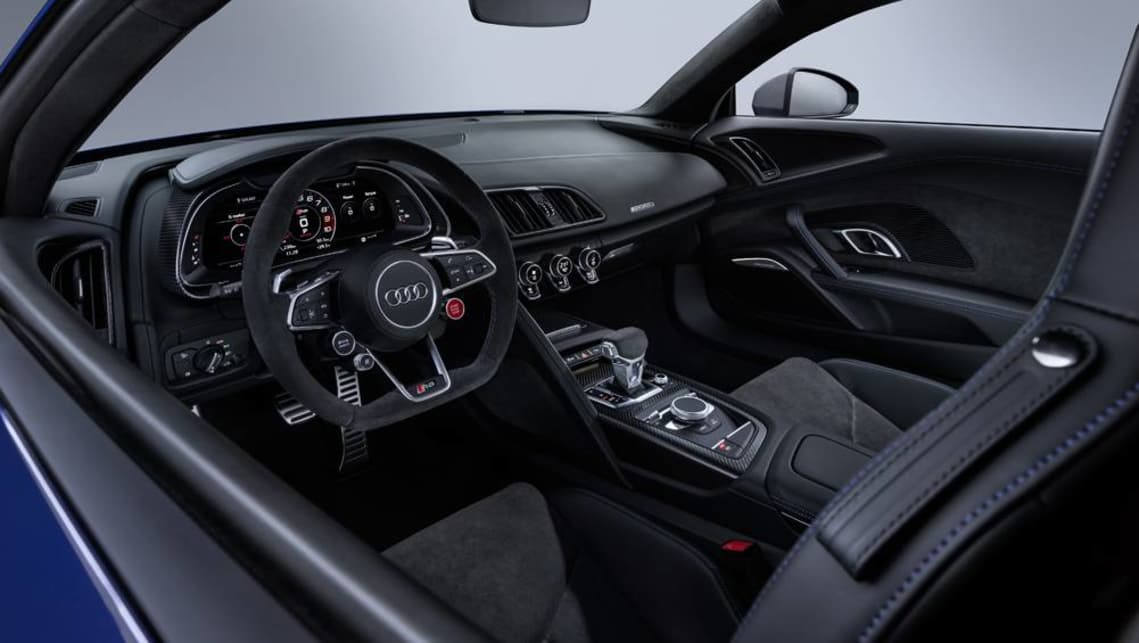 The update also brings the option of dynamic steering that changes the gear ratio and weight of the steering wheel feel.