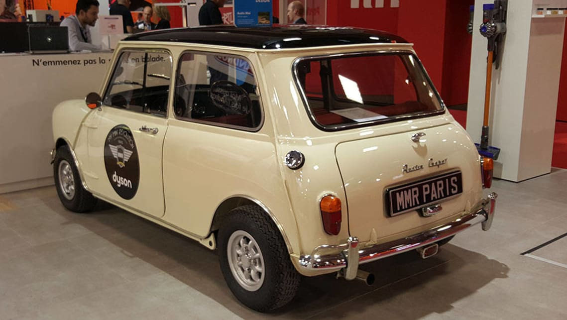 Dyson used this Mini Cooper to spruik vacuum cleaners. We weren't complaining.