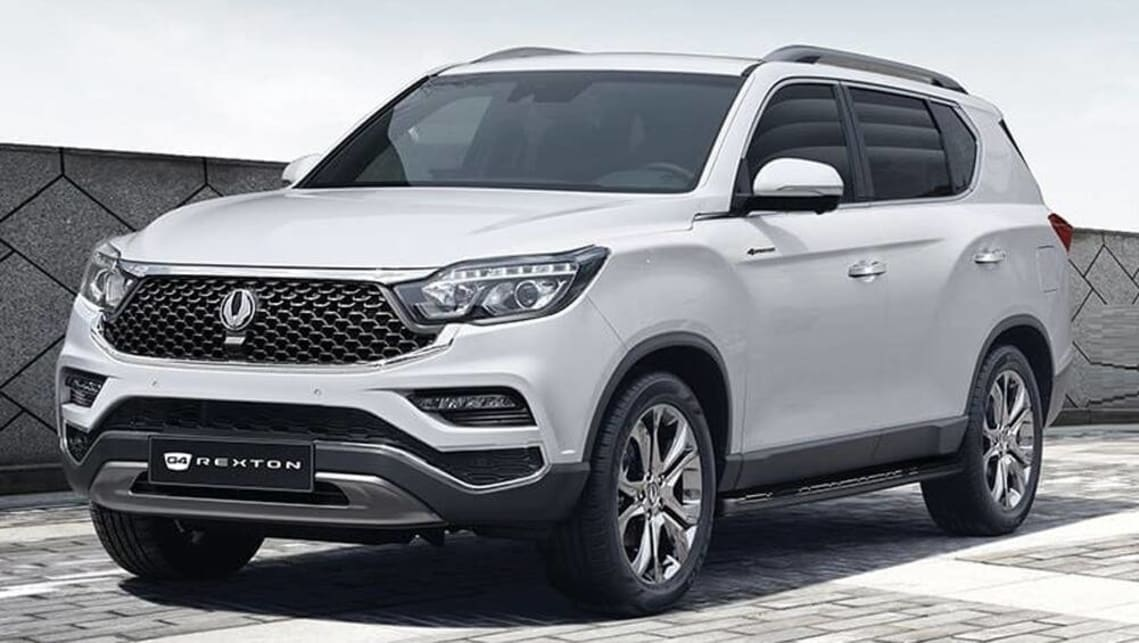SsangYong Rexton 2020 detailed: New look for large SUV line-up - Car News |  CarsGuide