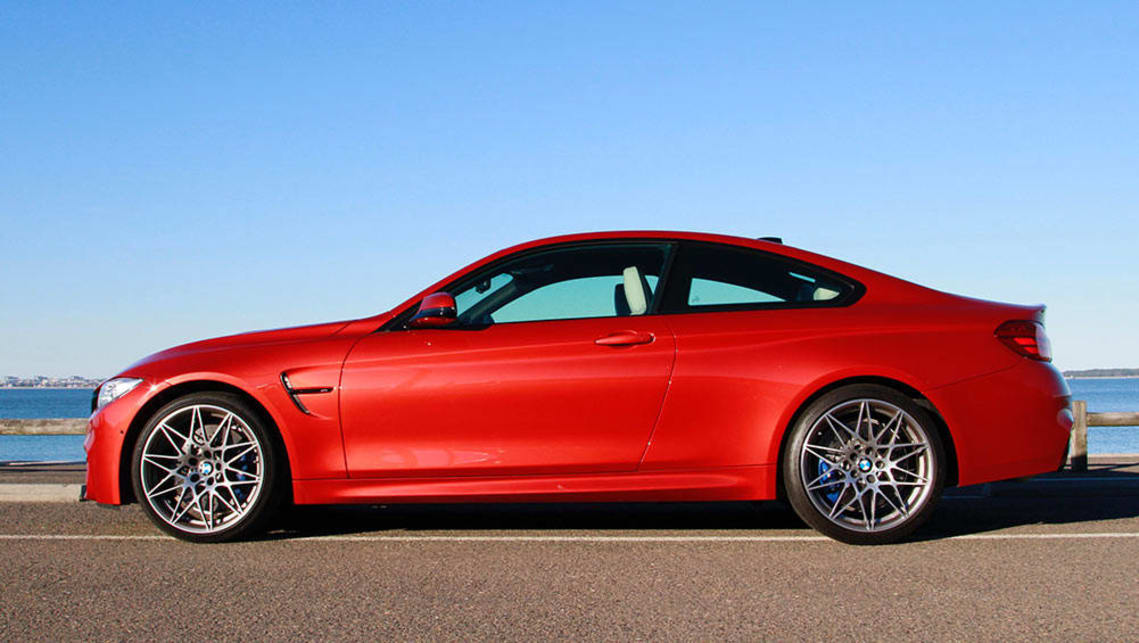 2016 BMW M4 Competition. Photo credit: Peter Anderson.