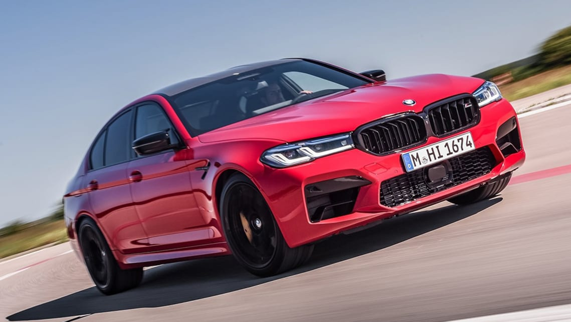 New Bmw M5 Competition 2021 Pricing And Spec Detailed Refreshed Mercedes Amg E63 Rival Gets More Expensive Car News Carsguide