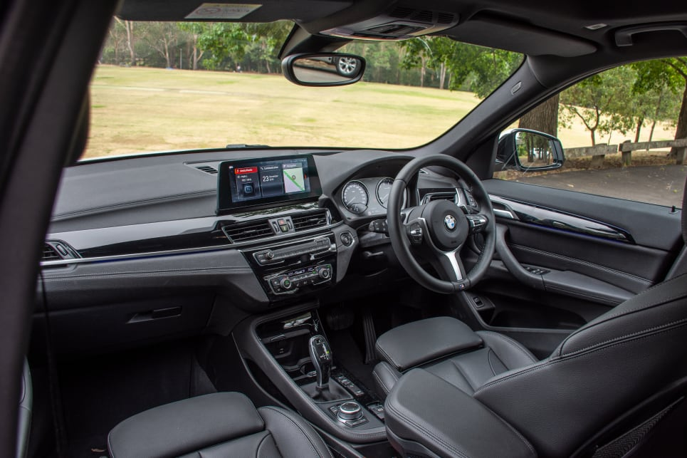 The X1's hidden trick is in how big its interior space is.