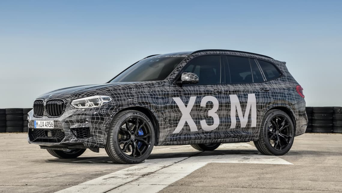 Currently, both the X3 mid-size SUV and the coupe-style X4 ranges are topped by an M40i variant.