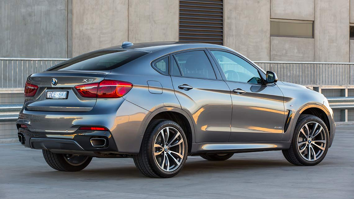 2015 BMW X6 xDrive50i with M Sport package