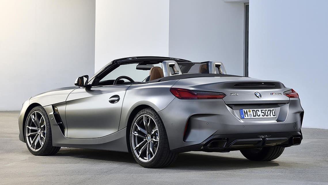The Z4 sportscar kicks off at $84,900 plus on-road costs for the entry-level sDrive20i.