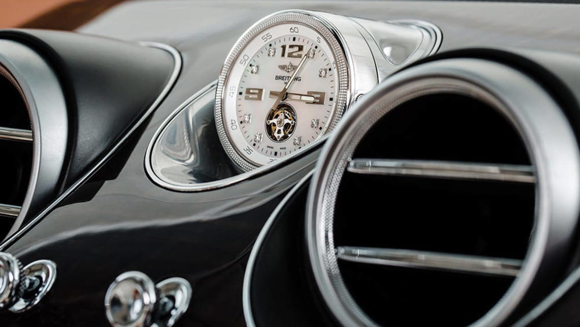 2016 Bentley Bentayga Breitling watch