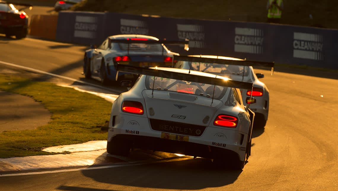 Bentley Continental GT3 at the 2015 Bathurst 12 Hour.