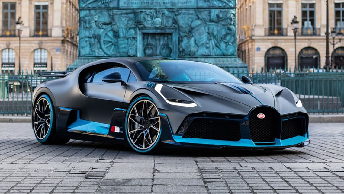 It has been speculated The Piech might look similar to the Bugatti Divo.