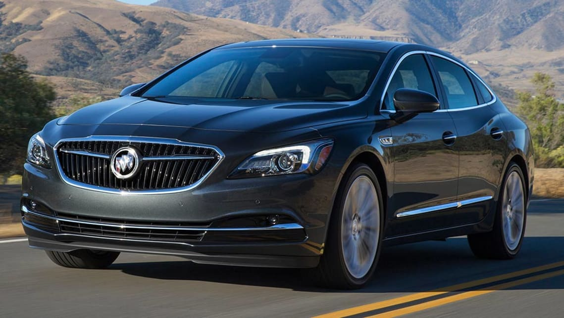 The Buick LaCrosse unveiled at the Detroit motor show.