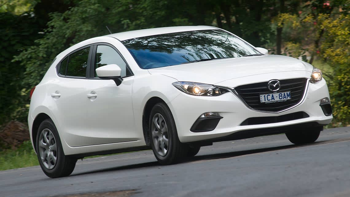 Mazda3 Neo (picture: Jack Atley)