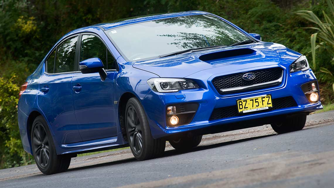 Subaru WRX (picture: Jack Atley)