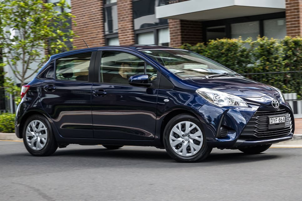 Driving the Yaris feels like you've got comfort mode selected.