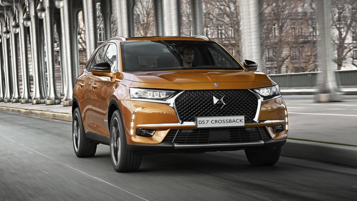 The DS7 Crossoback will take on the big guns in the premium SUV segment, including the forthcoming Audi Q5.