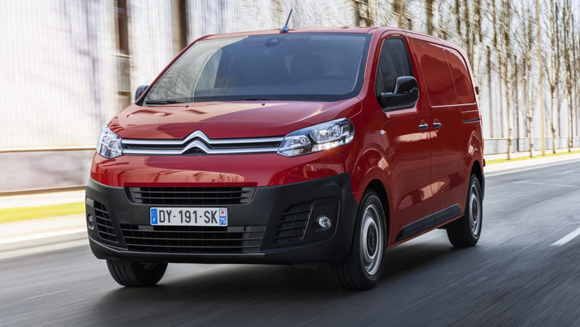 Citroen will re-enter the van market with the mid-size Dispatch, which shares its platform with the Peugeot Expert among others.