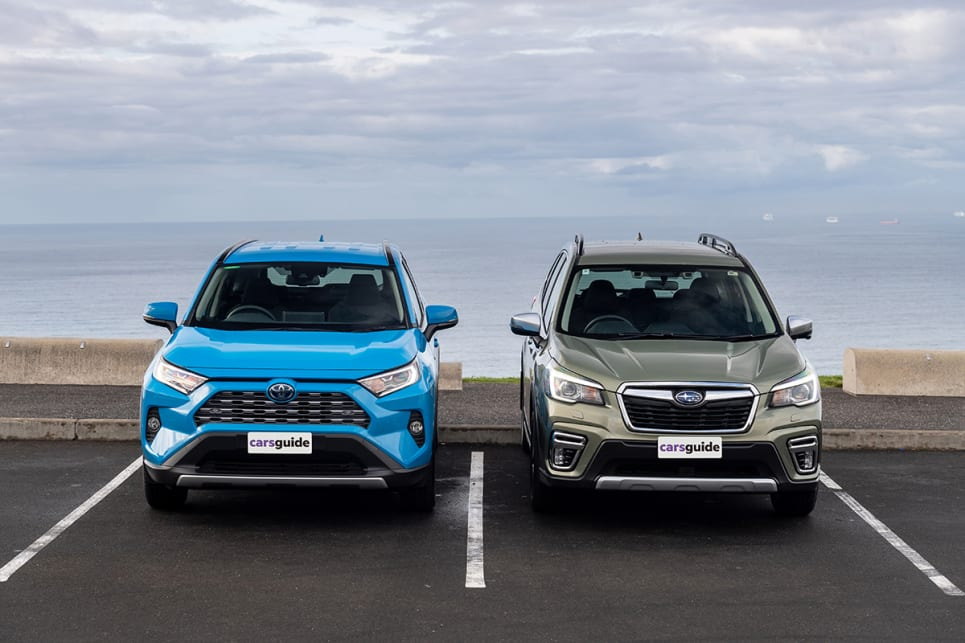 Both of these popular models are powered by petrol-electric powertrains.
