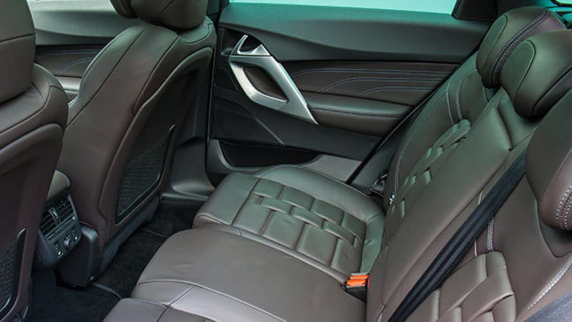 2016 Citoren DS5 back seat.