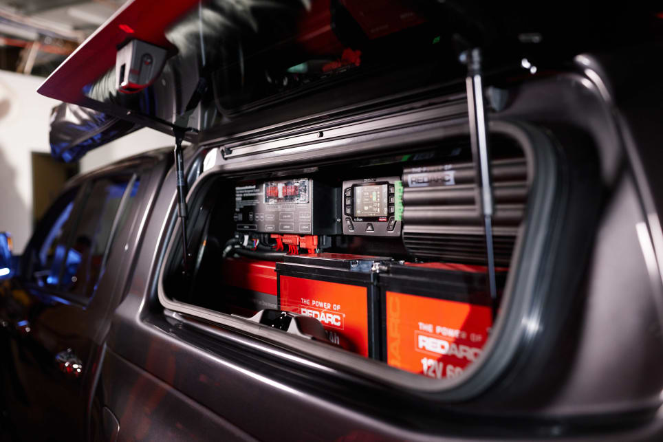 A DC to DC charger is one part of this Redarc off-grid power-management system. (image credit: Redarc)