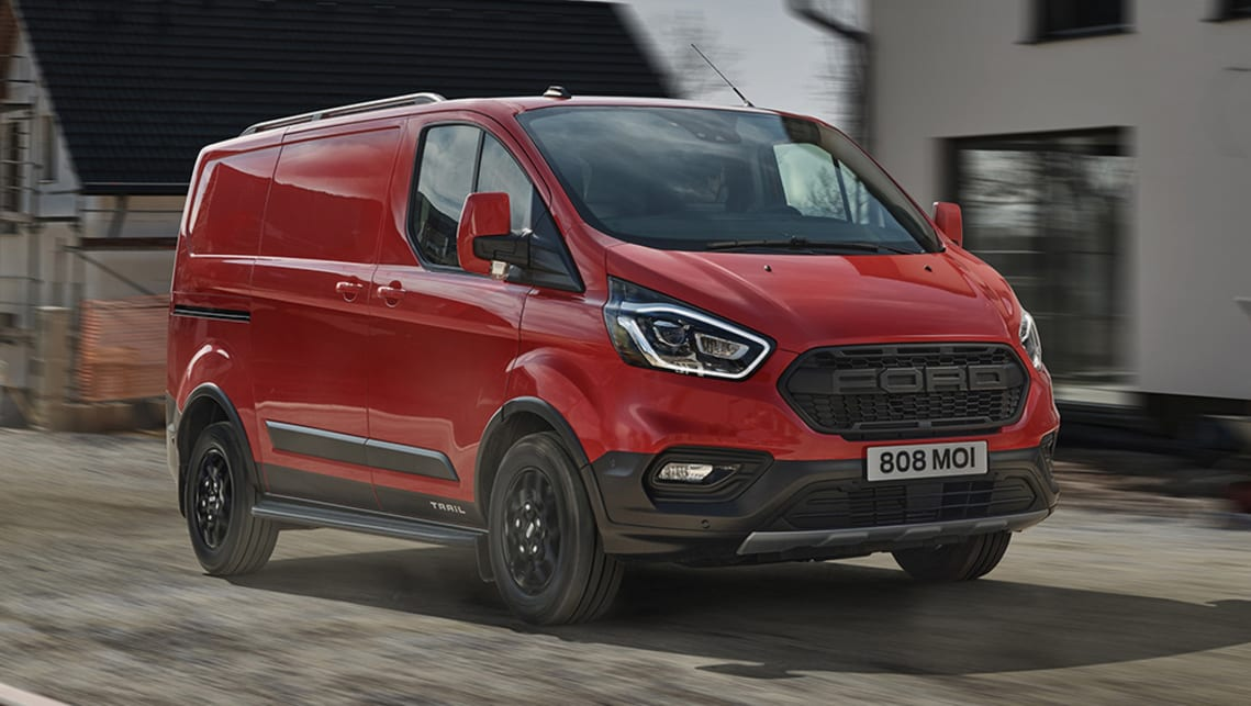 New Ford Transit 2021 Detailed Trail Version Emerges With Ranger
