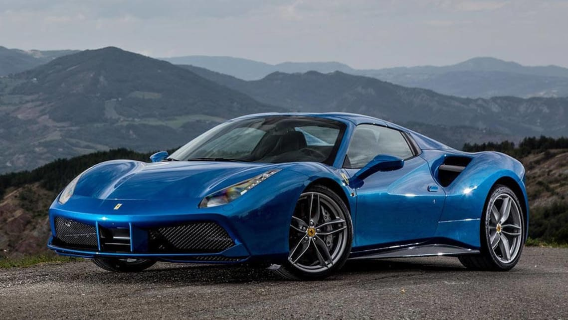 Ferrari 488 Spider 2016 Review Carsguide
