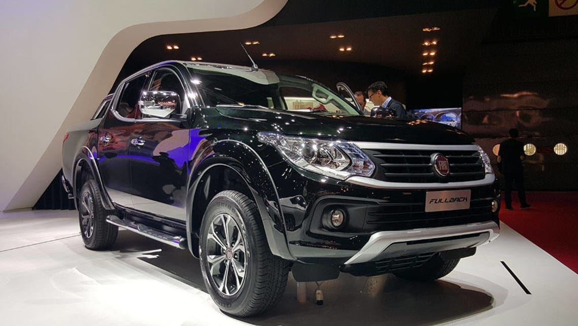 Fiat Fullback. A thinly disguised Mitsubishi Triton for Italy.