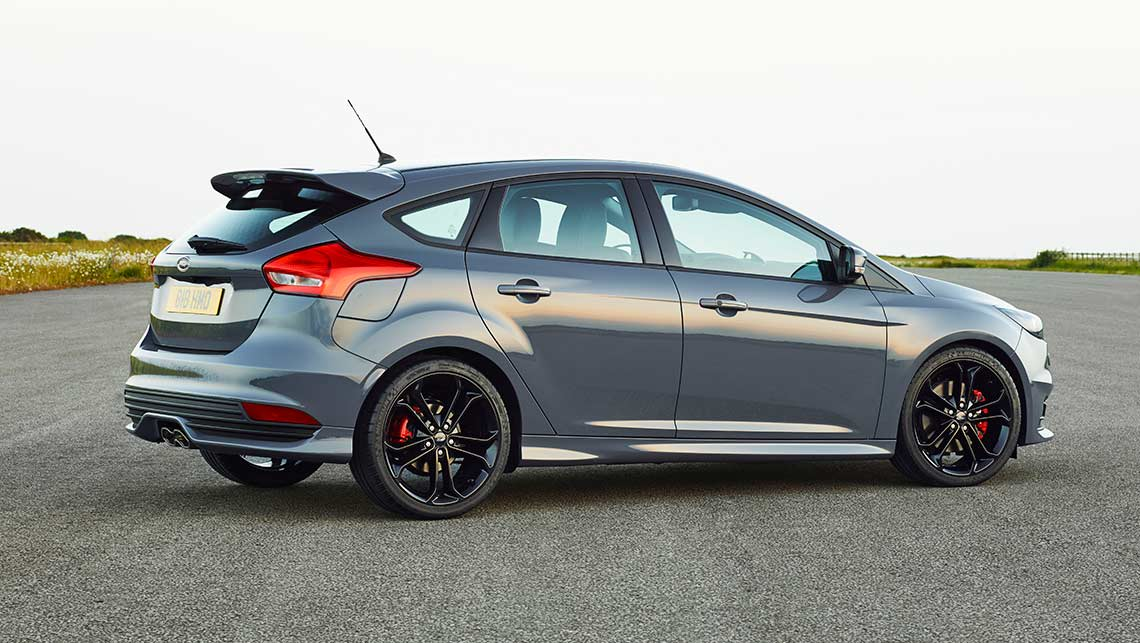 Updated Ford Focus ST