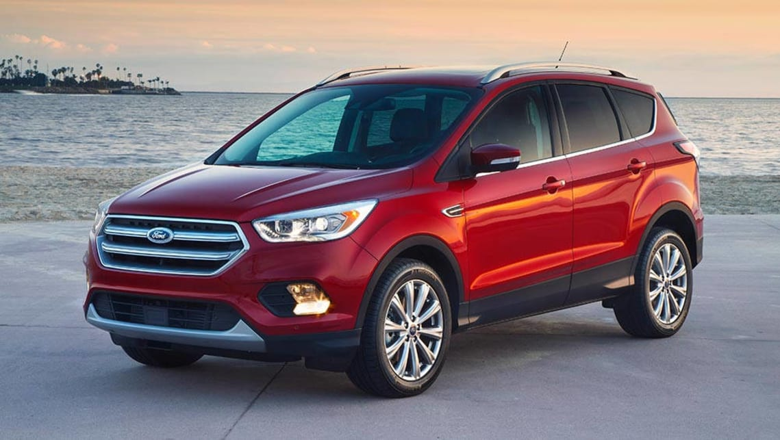 2017 Ford Escape.