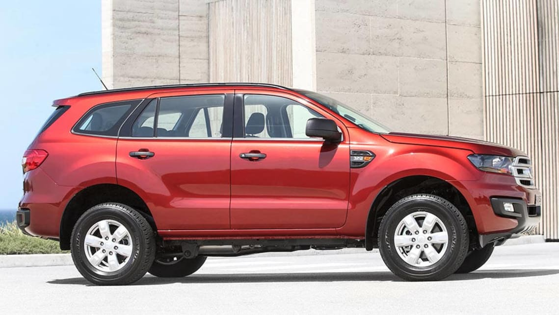 2016 Ford Everest Ambiente