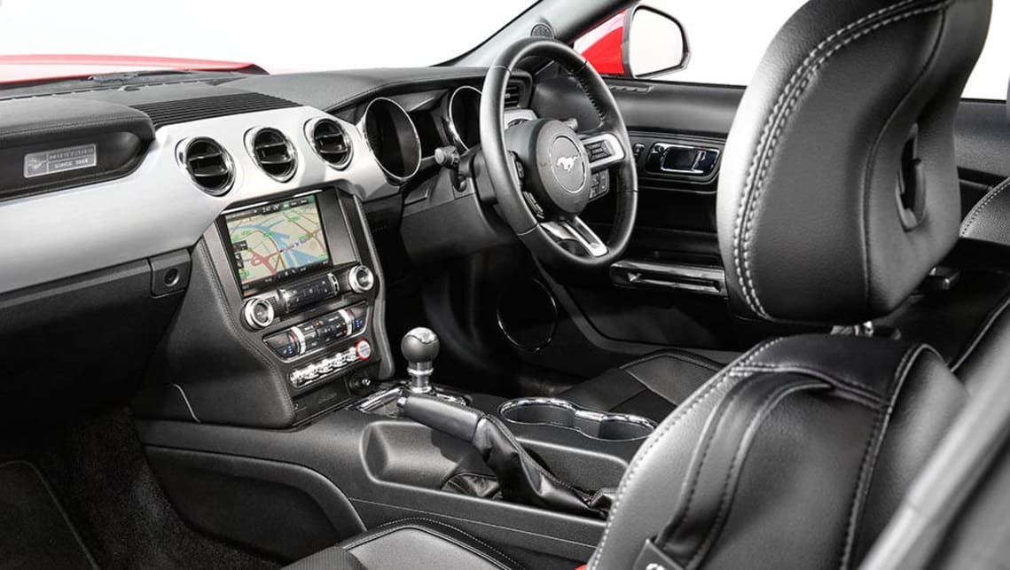 2016 Ford Mustang, interior.