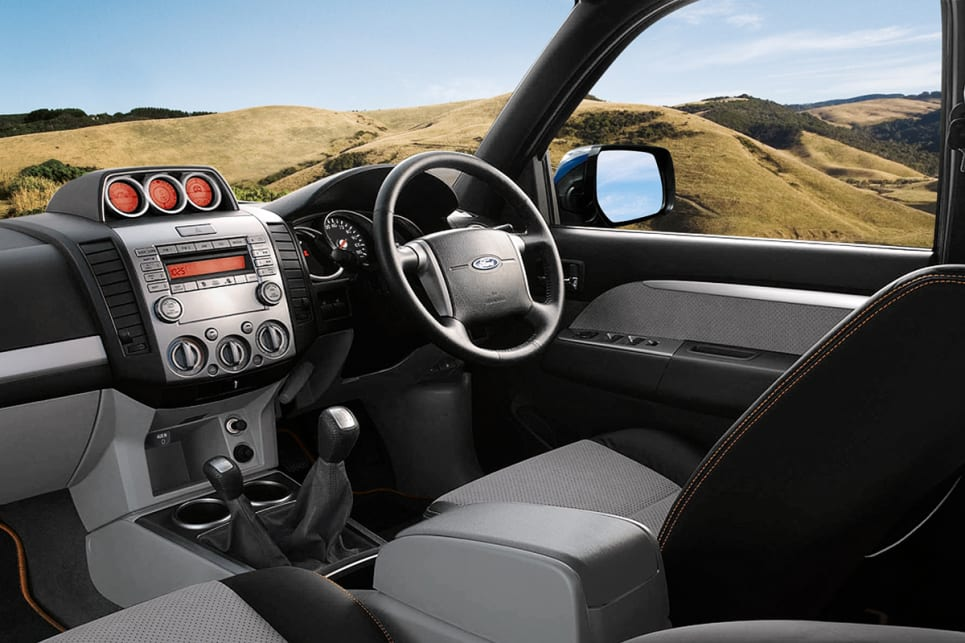 While the PK Ranger was well equipped for the day it didn't have features like Bluetooth or sat nav.