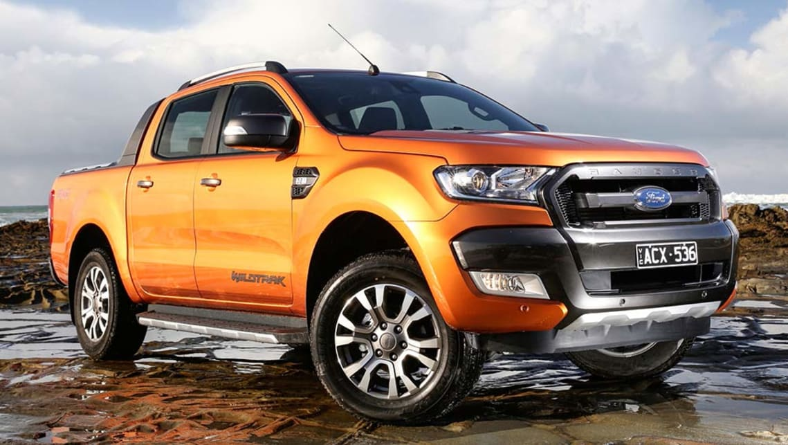The Ranger one-tonne ute makes up roughly four of every 10 Fords sold.