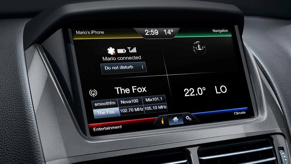 Ford SYNC2 multimedia system