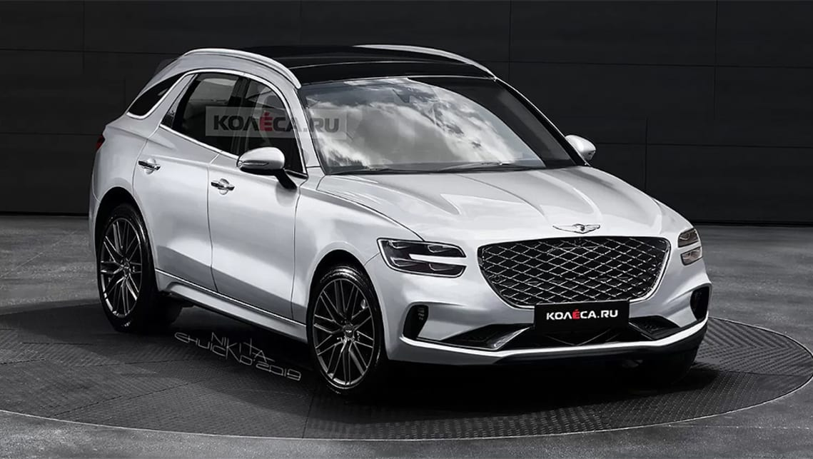 This is what the Genesis mid-size SUV could look like ...