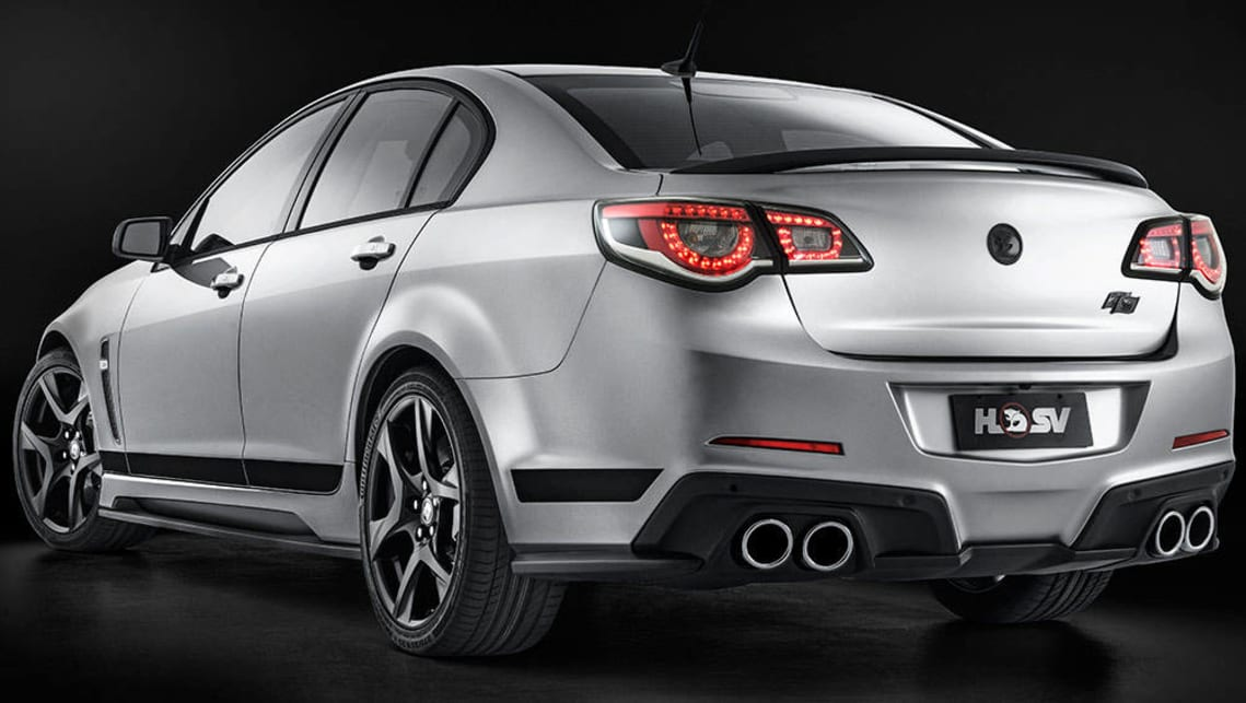 2016 HSV Clubsport R8 SV Black Edition