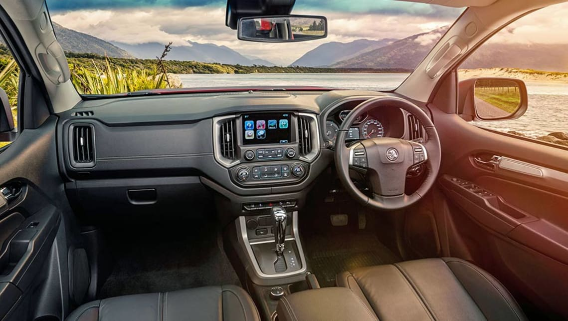 Holden Colorado has the tough look many buyers want.