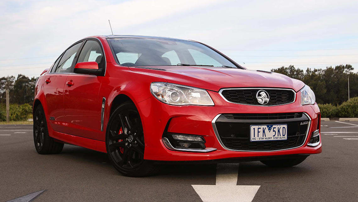 Holden Commodore VFII SS-V Redline sedan 2016 review | CarsGuide