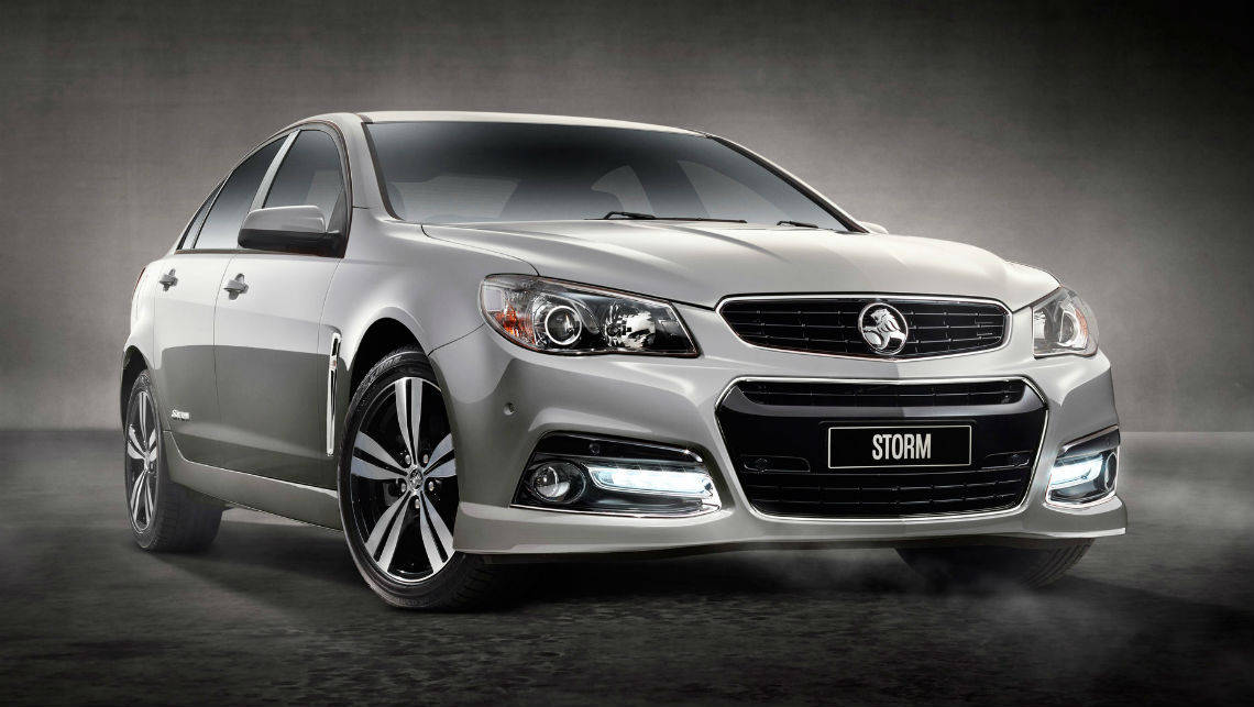 2015 Holden Commodore Storm sedan