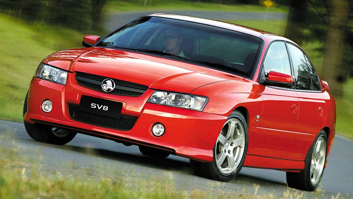 2004 Holden VZ Commodore SV8