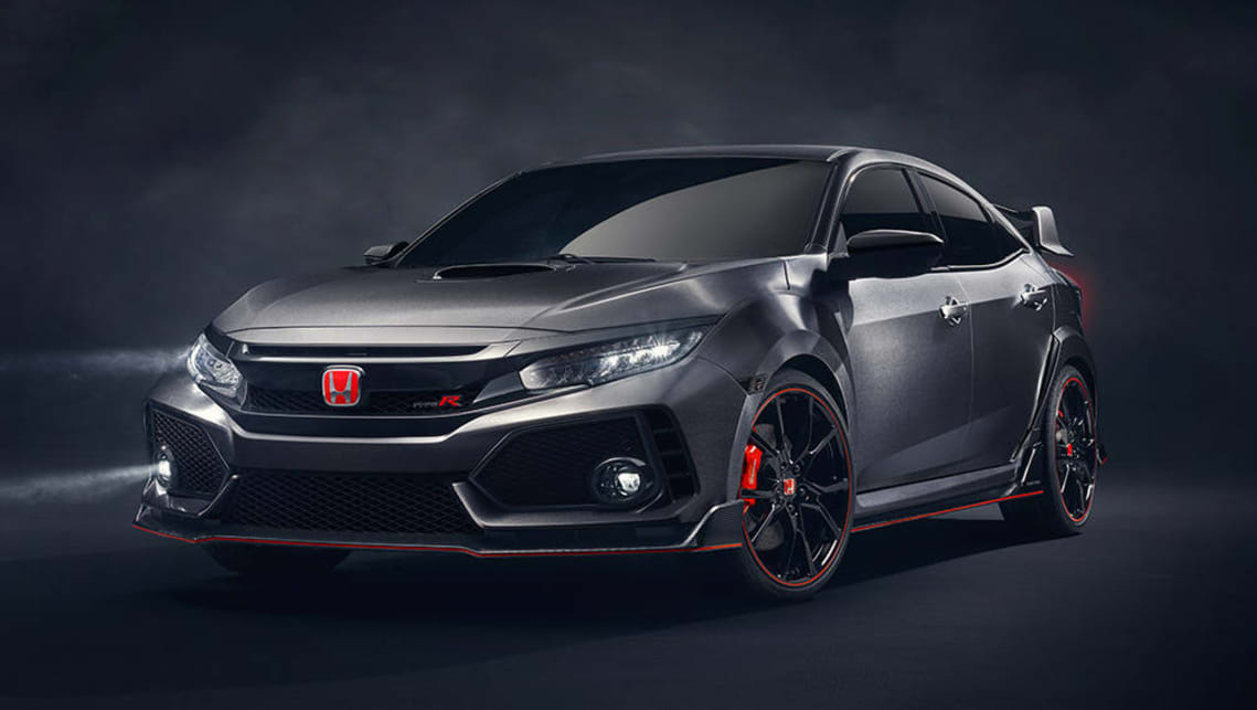 2017 Honda Civic Type R Prototype.