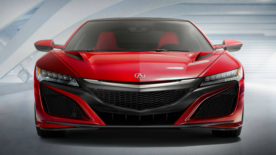 2016 Honda NSX revealed