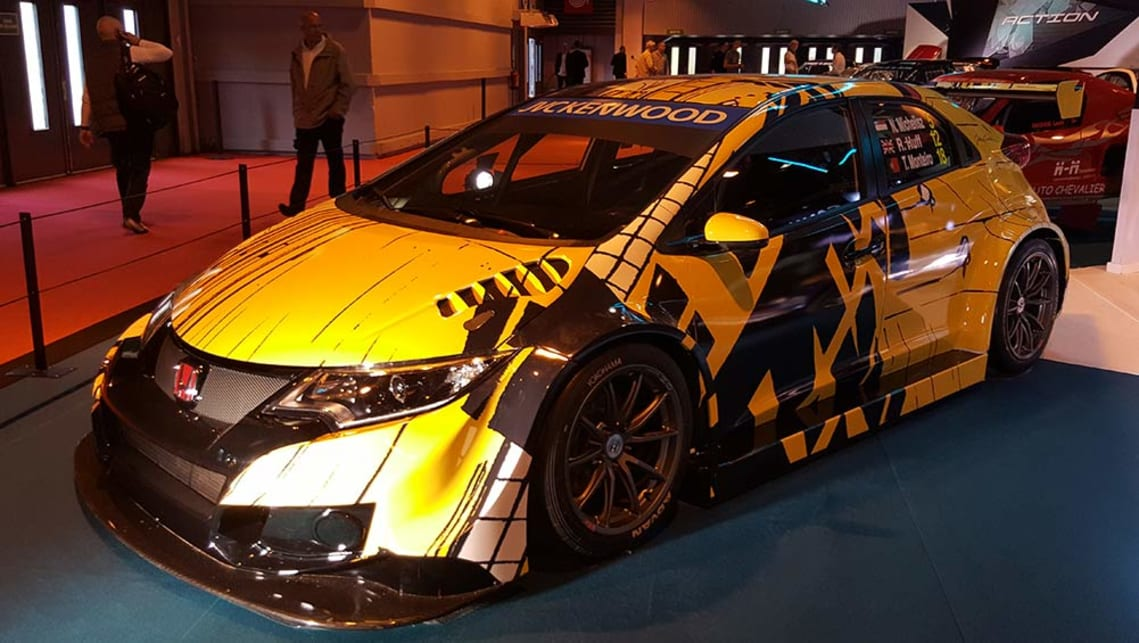 WTCC Honda Civic Art Car.