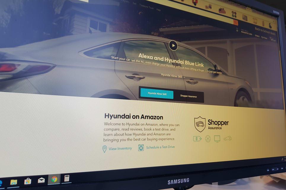 Hyundai launches Amazon online showroom - Car News | CarsGuide